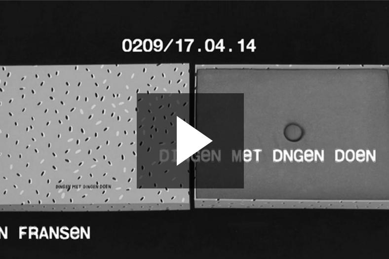Presentation Vedute 0209 / Carlijn Fransen / DINGEN MET DINGEN DOEN / 23-03-2014