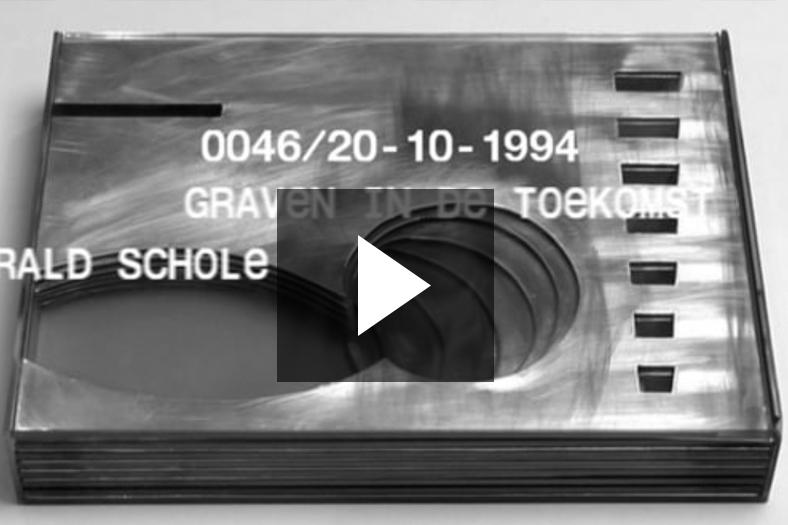 Presentation Vedute 0046,  GRAVEN IN DE TOEKOMST, Harald Schole, 20-10-1994.