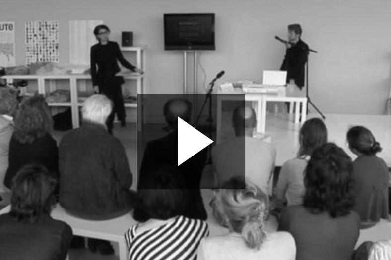 presentation Vedute 0176  WORMWOOD [1] Sanne Peper en Michaël Snitker 11.09.2011