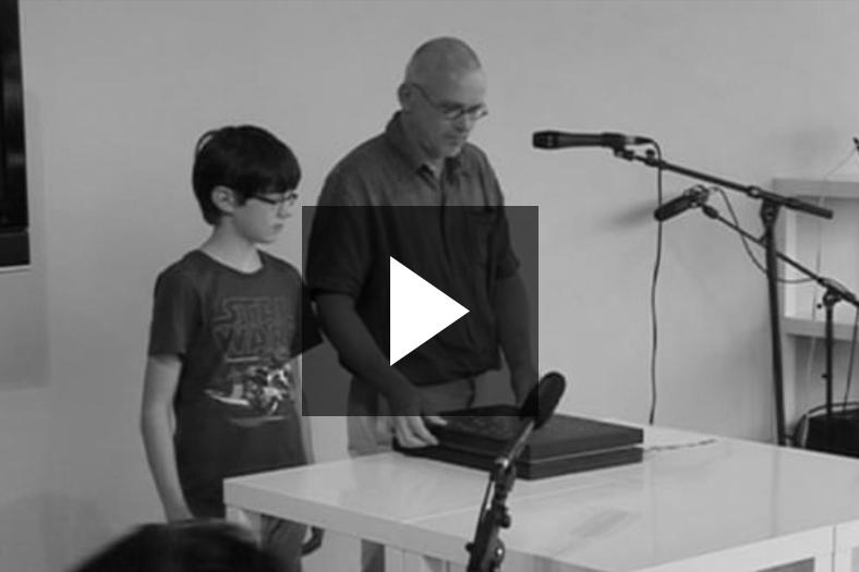 presentation Vedute 0182 / IN DEN BEGINNE..., Paul Bogaers, 11-09-2011