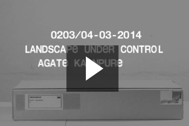 Vedute 0203, LANDSCAPE UNDER CONTROL, Agate Kalnpure, 04-03-2014
