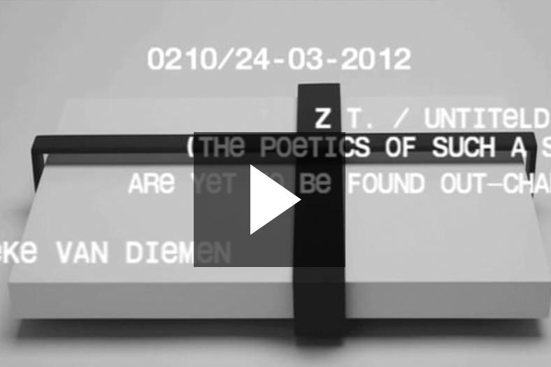 Vedute 0210, zonder titel , Marieke van Diemen, 15-11-2012